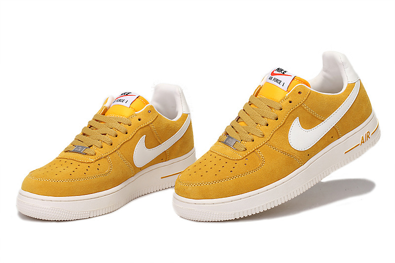 air force one jaune fluo femme