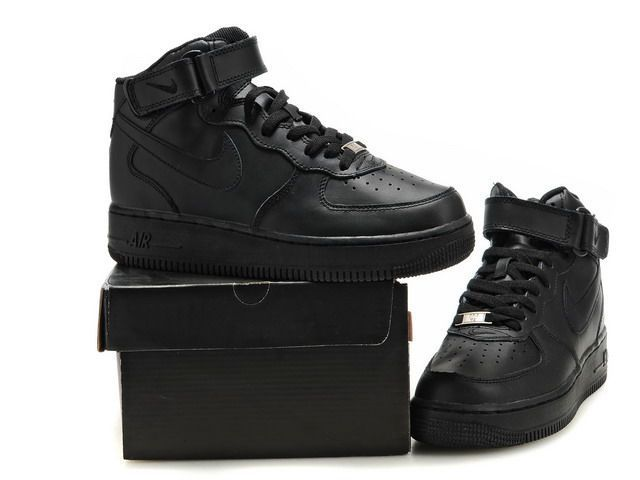air force noir montante