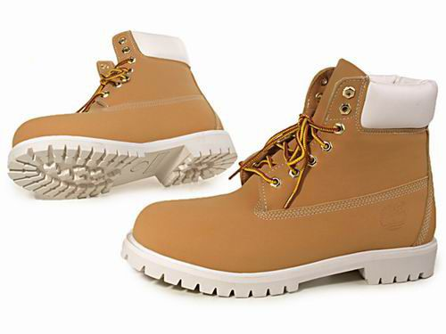 timberland homme semelle blanche